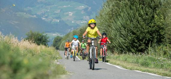 Cycling in the Val Venosta